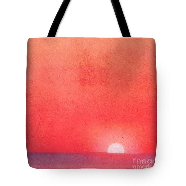 Sunset Impression Tote Bag by Angela Doelling AD DESIGN Photo and PhotoArt