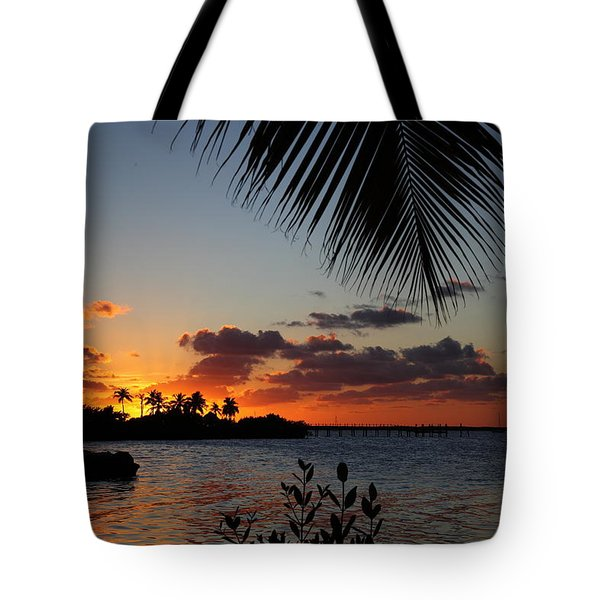 Sunset In Paradise Tote Bag by Michelle Wiarda