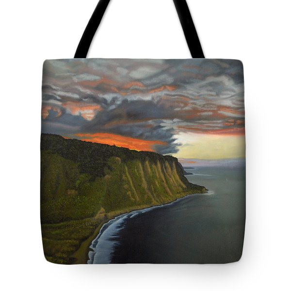 Sunset In Paradise Tote Bag by Thu Nguyen