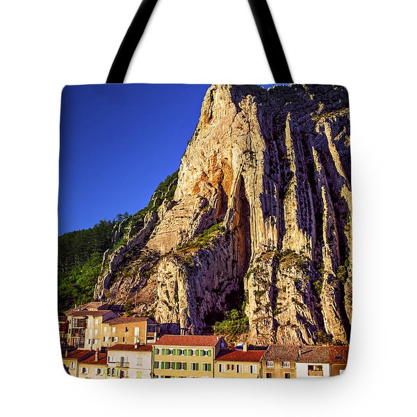 Sunset In Provence Tote Bag by Elena Elisseeva