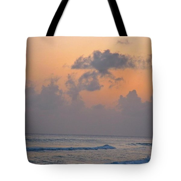 Sunset In The Tropics Tote Bag by John Malone
