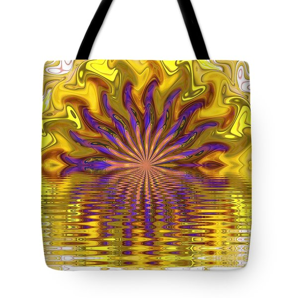 Sunset Of Sorts Tote Bag by Elizabeth McTaggart