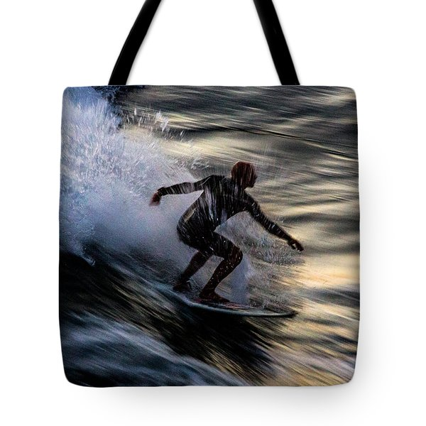 Sunset Ride 2 Tote Bag by John Daly