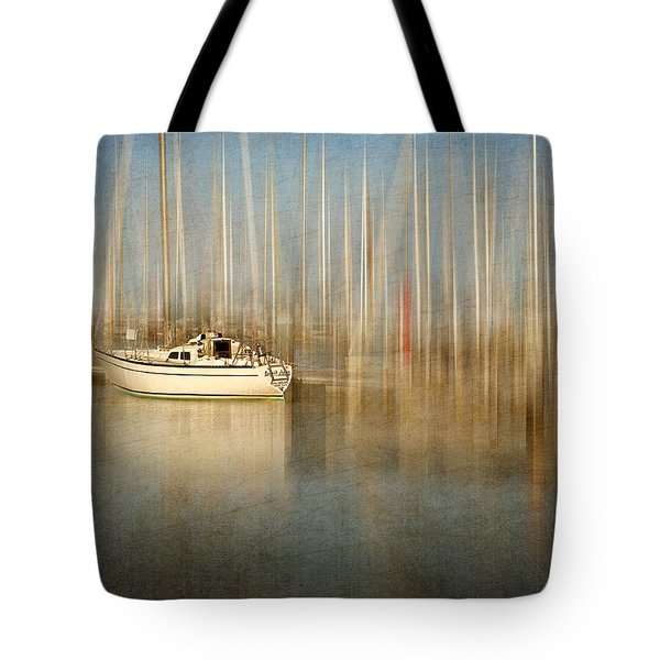 Sunset Sail Tote Bag by Amy Weiss