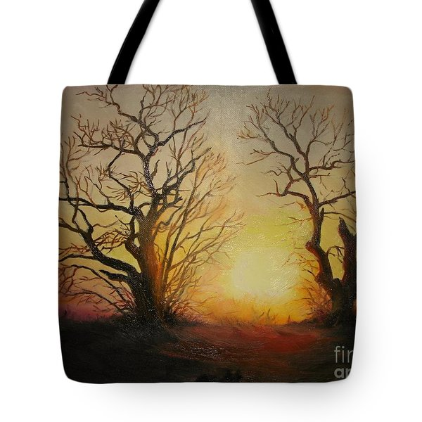 Sunset Tote Bag by Sorin Apostolescu