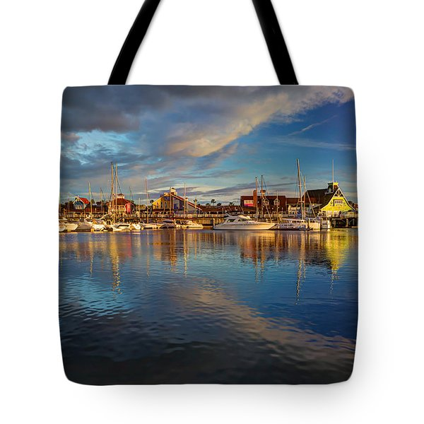 Sunset's Warm Glow Tote Bag by Heidi Smith