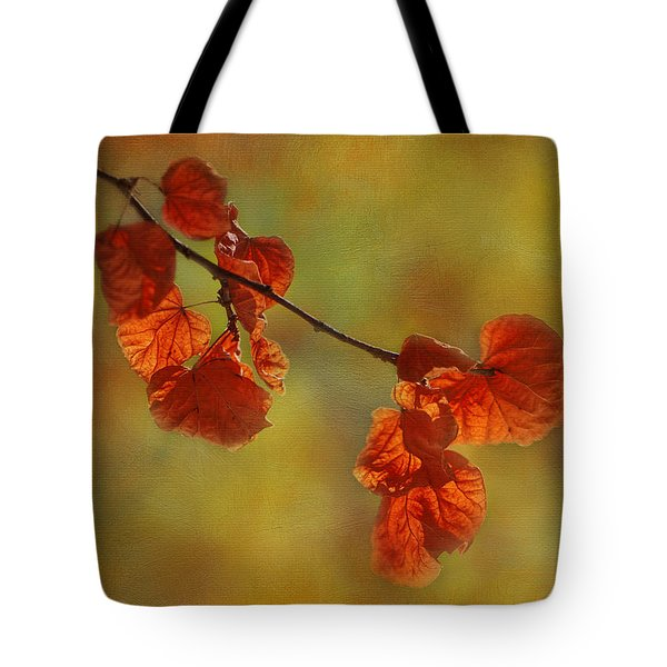 Sunshine And Red  Tote Bag by Ivelina G