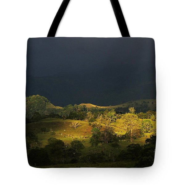 Sunspot after the storm Tote Bag by Heiko Koehrer-Wagner