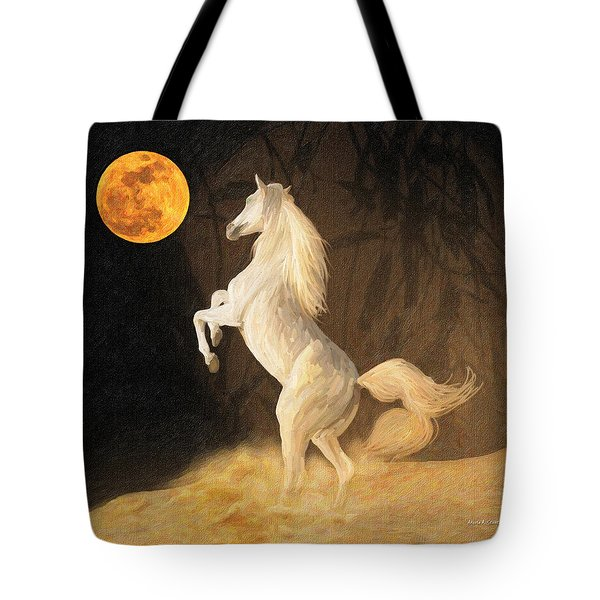 Super Moonstruck Tote Bag by Angela A Stanton