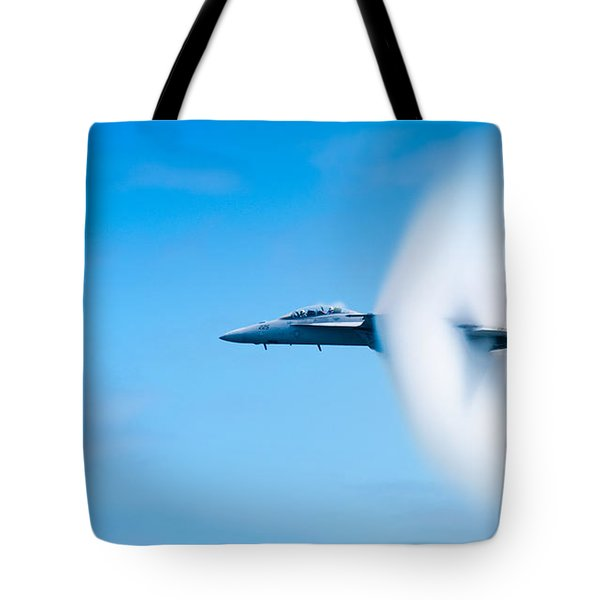 Super Sonic Tote Bag by Sebastian Musial