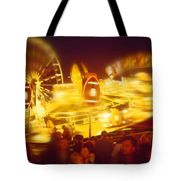 Superbowl Tote Bag by Charles Stuart