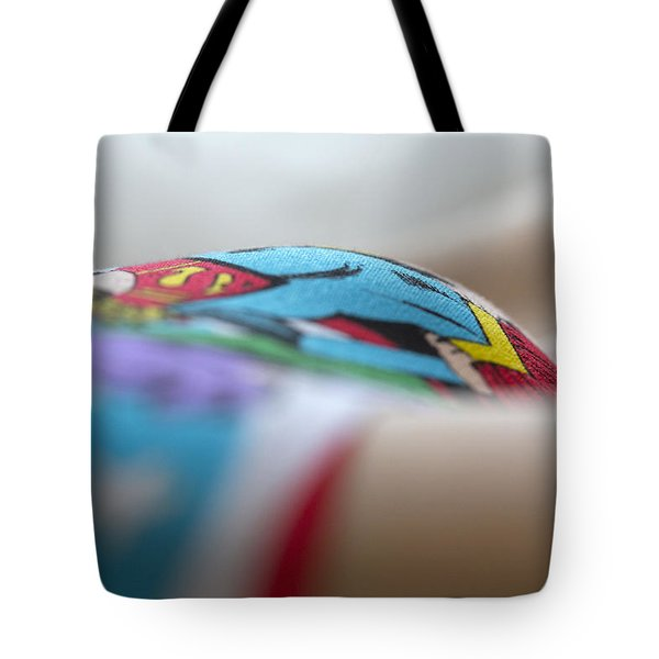Supergirl Tote Bag by David Hare