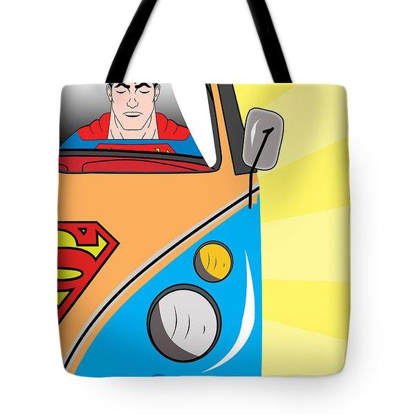 Superman 4 Tote Bag by Mark Ashkenazi