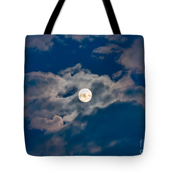 Supermoon Tote Bag by Robert Bales
