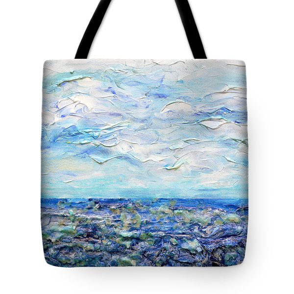 surf study Tote Bag by Regina Valluzzi