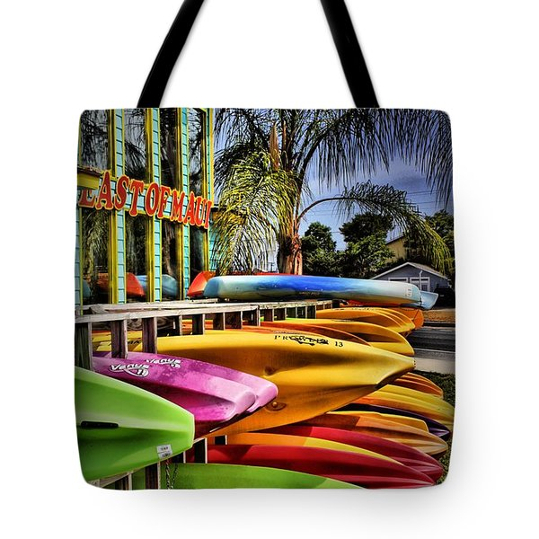 Surf's Up Tote Bag by Robert McCubbin