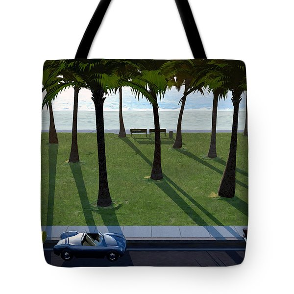 Surfside Tote Bag by Cynthia Decker