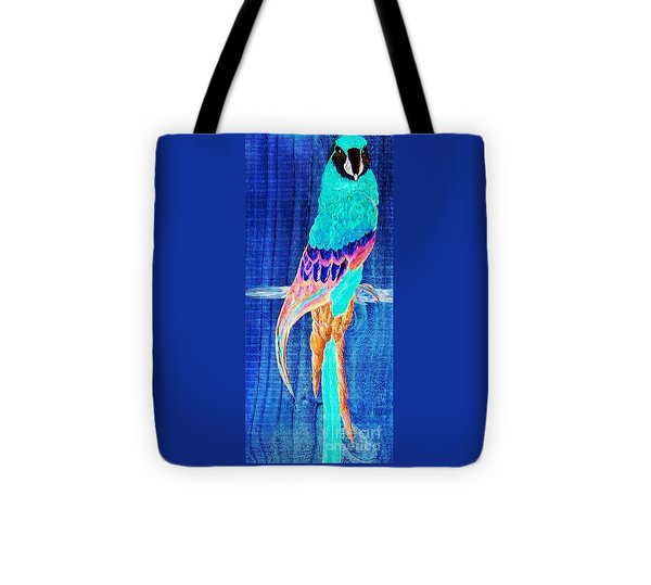 Surreal Parrot Tote Bag by Eloise Schneider