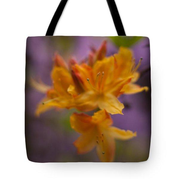 Surrealistic Blooms Tote Bag by Mike Reid