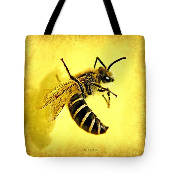 Suspended Animation  Tote Bag by Chris Berry