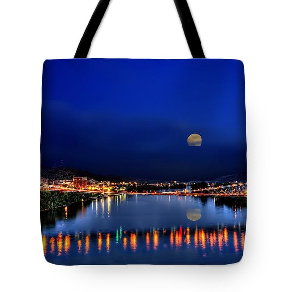 Suspension bridge Tote Bag by Dan Friend