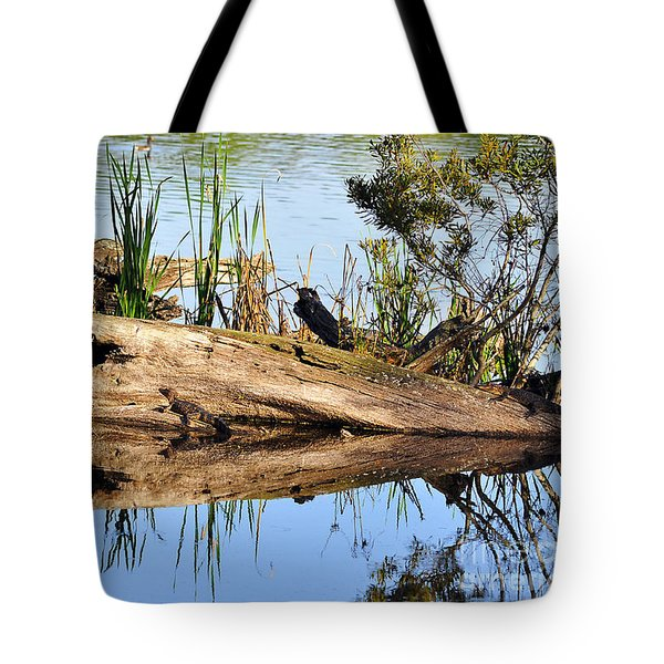 Swamp Scene Tote Bag by Al Powell Photography USA