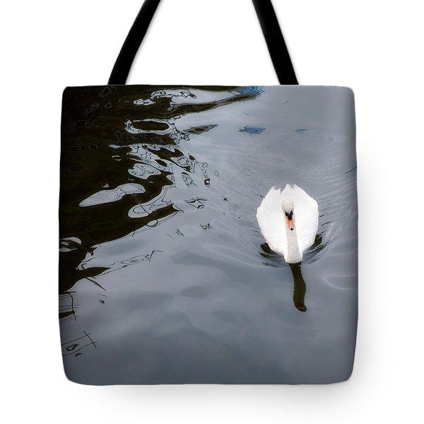 Swan Song Tote Bag by Rebecca Cozart