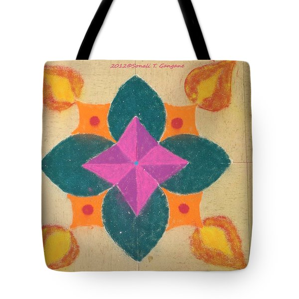 Swarna Jyot Tote Bag by Sonali Gangane