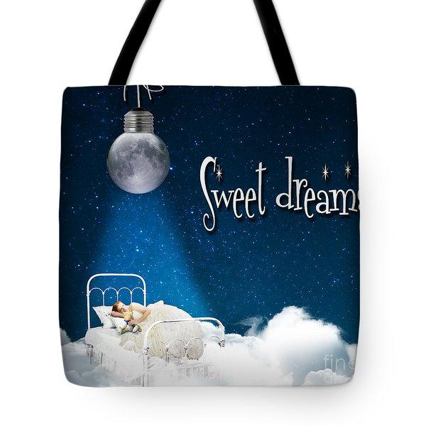 Sweet Dreams Tote Bag by Juli Scalzi