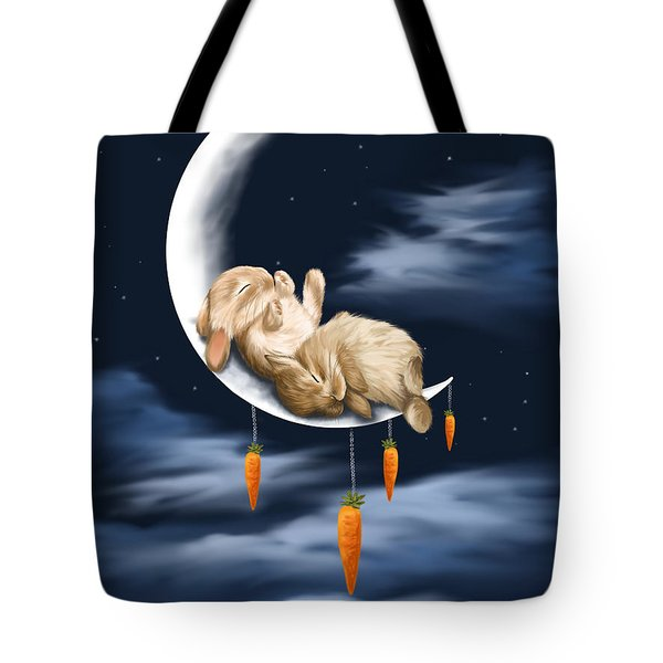 Sweet Dreams Tote Bag by Veronica Minozzi