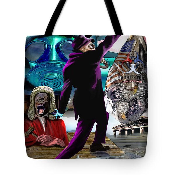 Sweet Land Of Liberty Tote Bag by Reggie Duffie