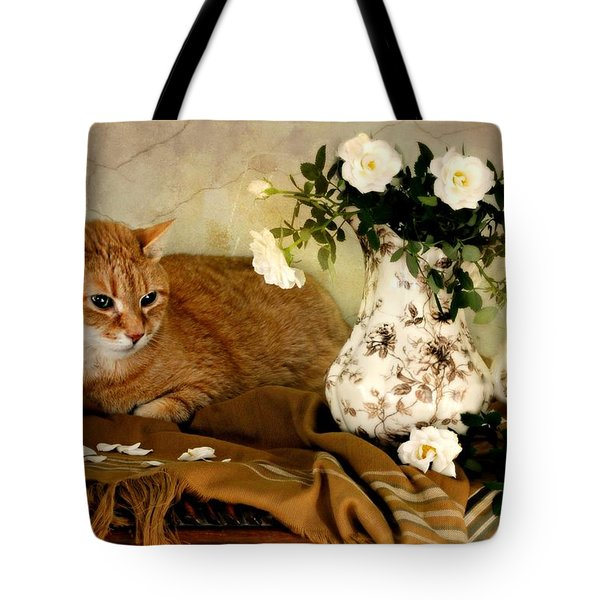 Sweetheart Roses Tote Bag by Diana Angstadt