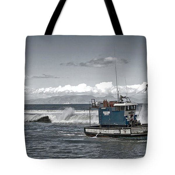 Swell Return Tote Bag by Andrew  Hewett
