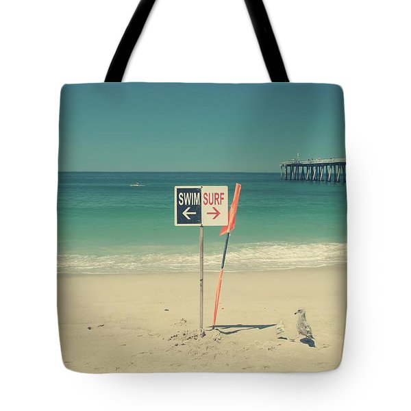 Swim And Surf Tote Bag by Laurie Search