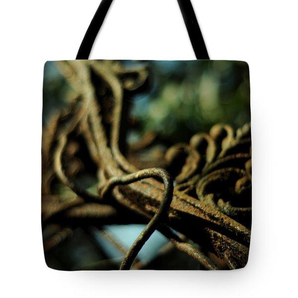 Swimming Skyward Tote Bag by Rebecca Sherman