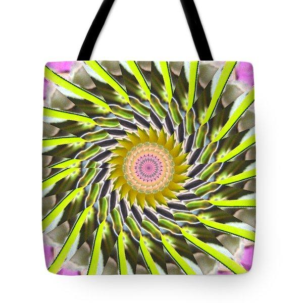 Swirl Tote Bag by Bobbie Barth