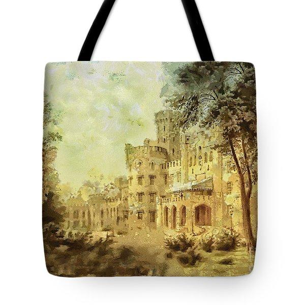 Sybillas Palace Tote Bag by Mo T