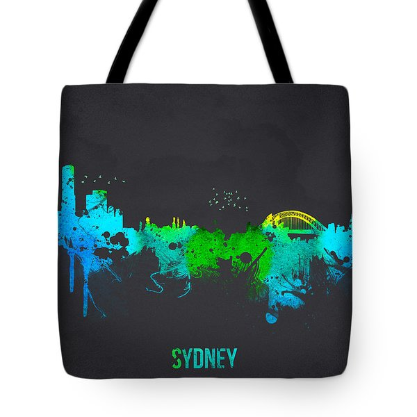 Sydney Australia Tote Bag by Aged Pixel
