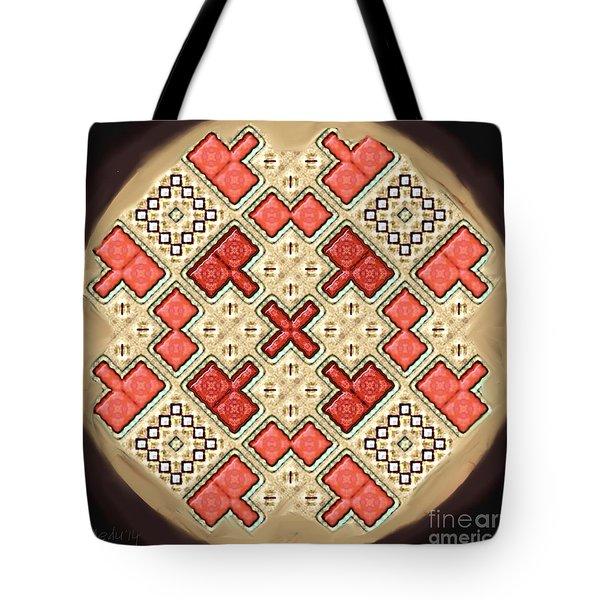 Symmetrica 311 Tote Bag by Nedunseralathan R