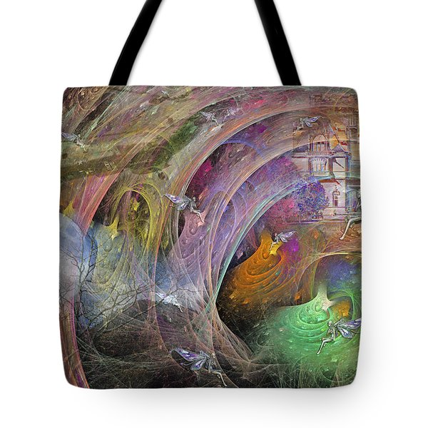 Synchronizing Times Tote Bag by Betsy C  Knapp