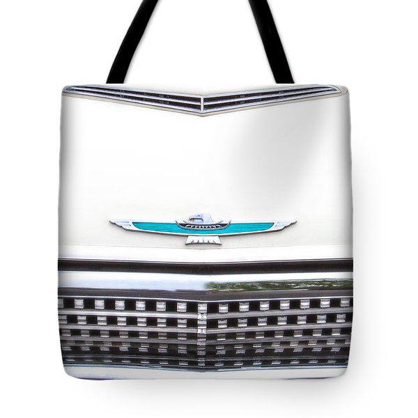 T-bird Hood Tote Bag by Jerry Fornarotto