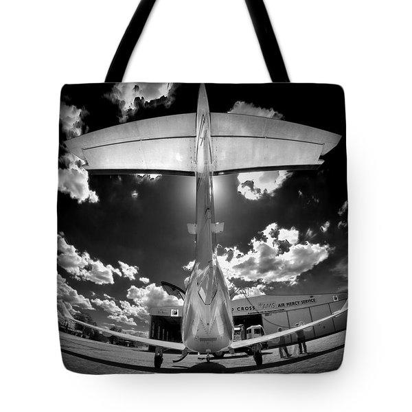 T Wing Tote Bag by Paul Job