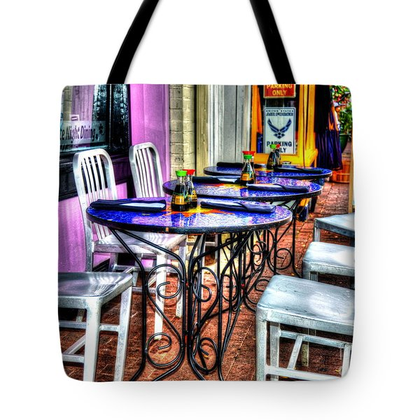 Table For Six Tote Bag by Debbi Granruth