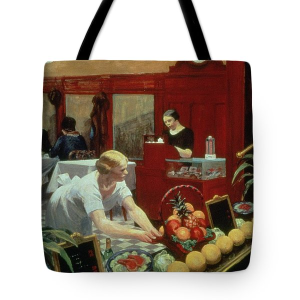 Tables For Ladies Tote Bag by Edward Hopper