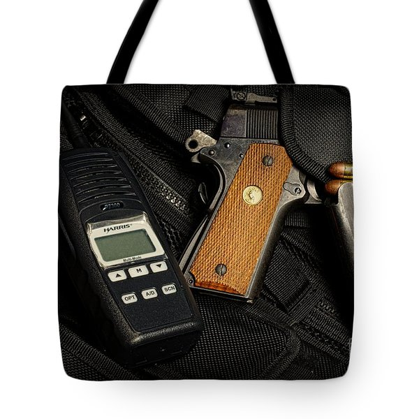 Tactical Gear - Gun  Tote Bag by Paul Ward