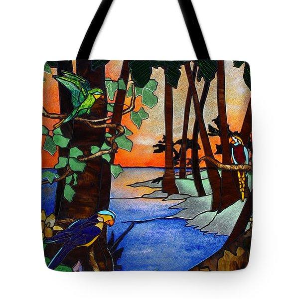 Tahiti Window Tote Bag by Peter Piatt