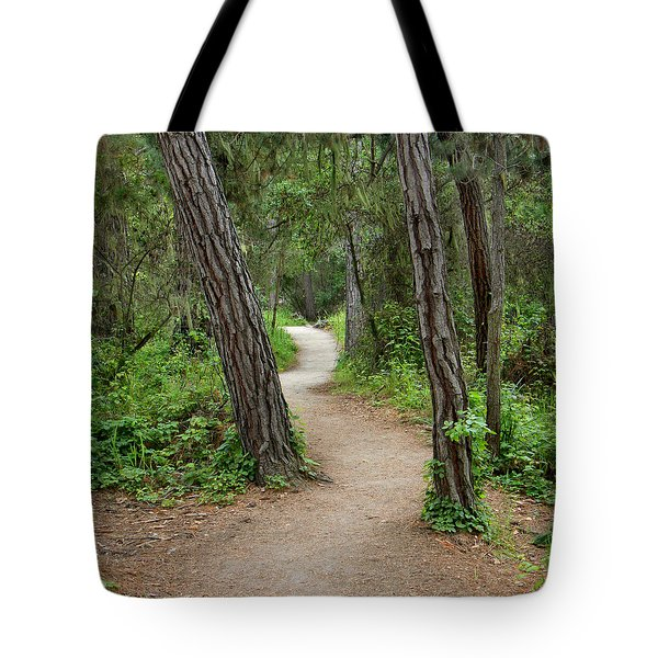 Take A Hike Tote Bag by Art Block Collections