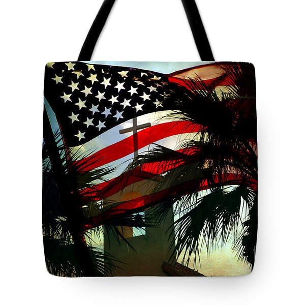 Take Back America Tote Bag by Beverly Guilliams