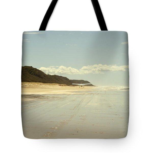 Take Off Tote Bag by Linda Lees