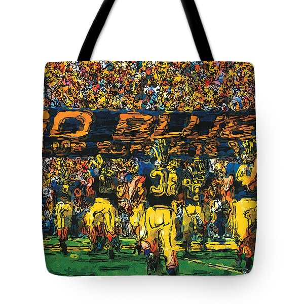 Take The Field Tote Bag by John Farr